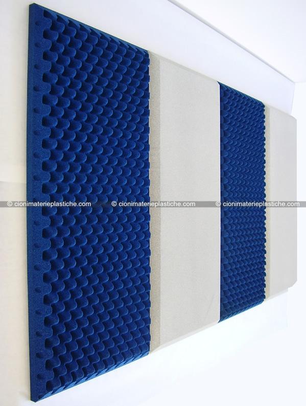 Fonoassorbenti colorati cioni materie plastiche espanse - Pannelli decorativi fonoassorbenti ...